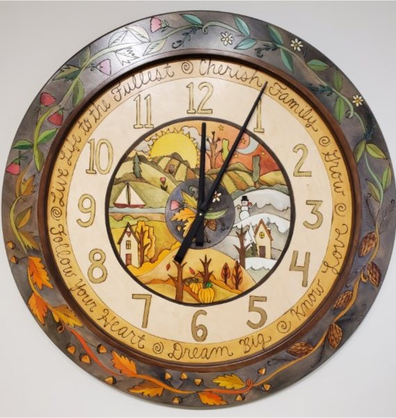 Seasons in Clock