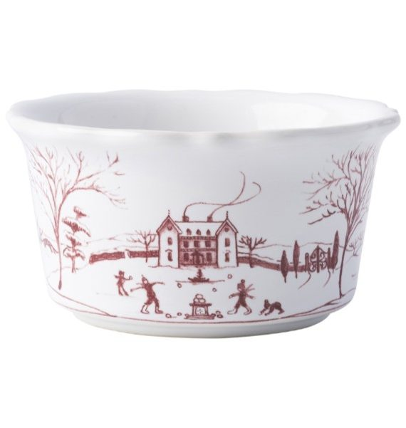 winter frolic ramekin