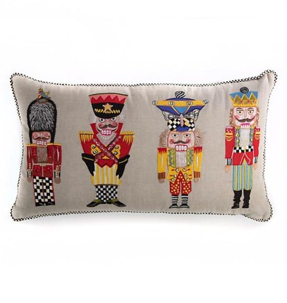 Nutcracker Brigade Pillow