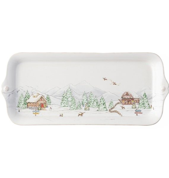 berry and thread North pole Hostess tray