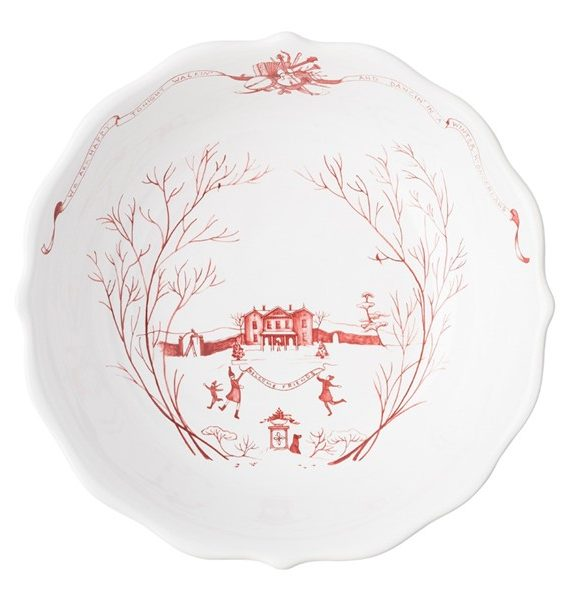 ruby inch bowl