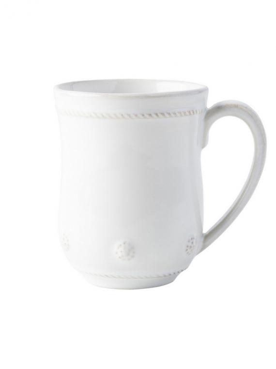berry and thread whitewash mug