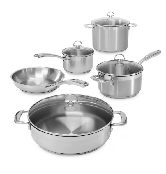 SLIN piece cookware set