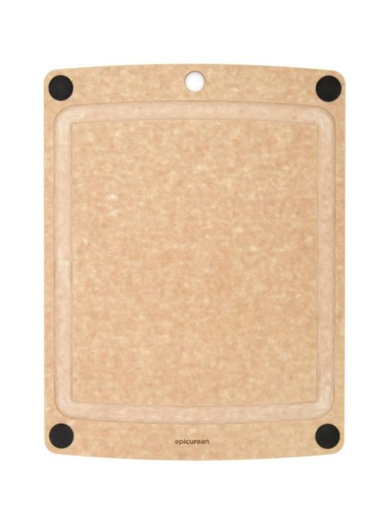 epicurean cutting boards all in one natural black x x