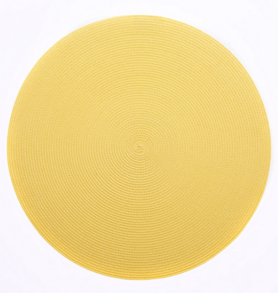 yellow mat