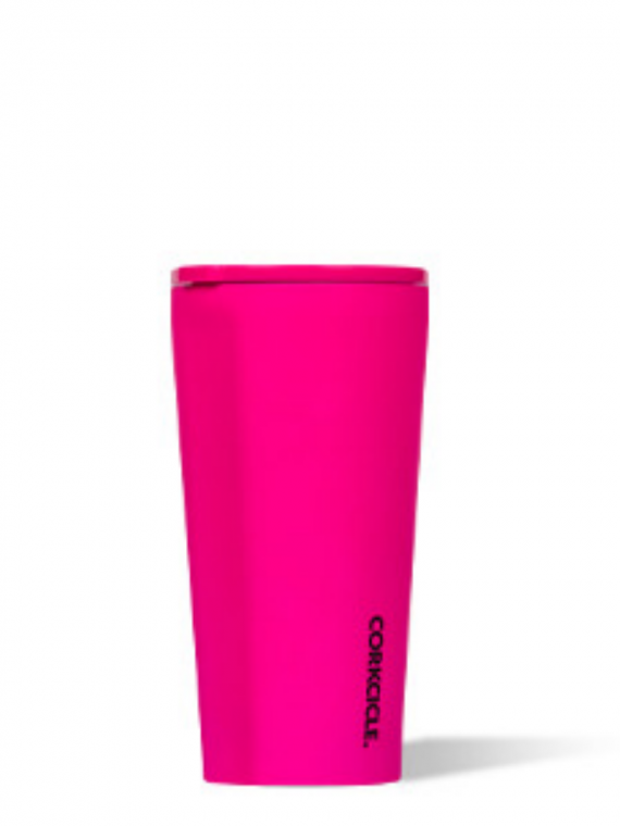 DNP neon pink tumbler