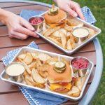 burger trays x