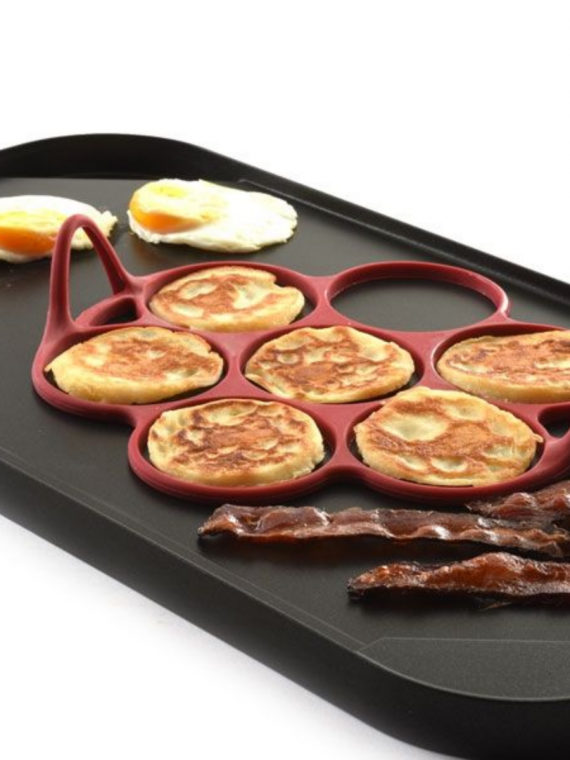 R pancake egg ring