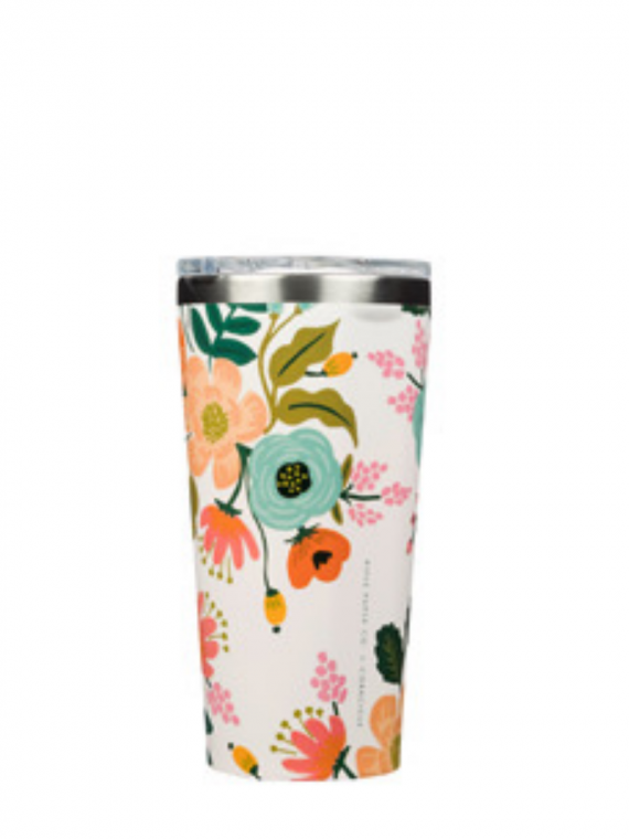 RPGCL cream floral tumbler