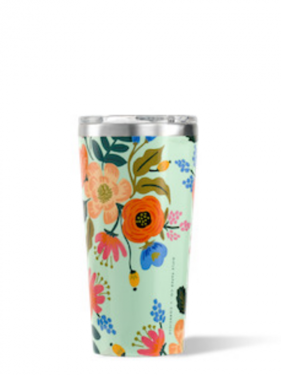 RPGML mint floral tumbler