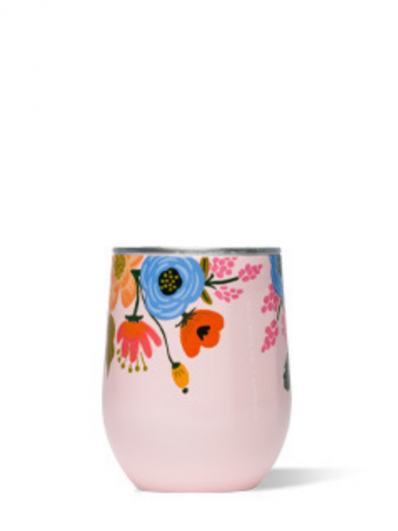 RPGBL blush floral stemless