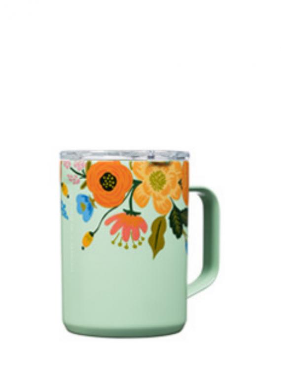 RPGML mint floral mug