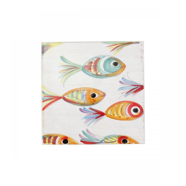 pesci colorati trivet pse