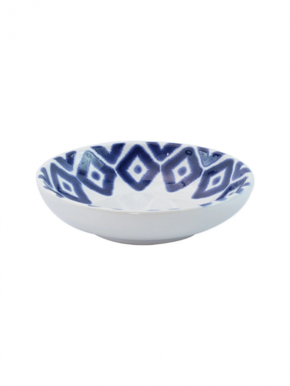 santorini diamond condiment bowl