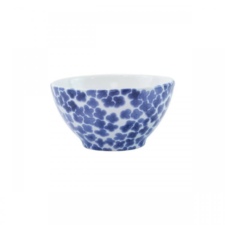 santorini flower cereal bowl