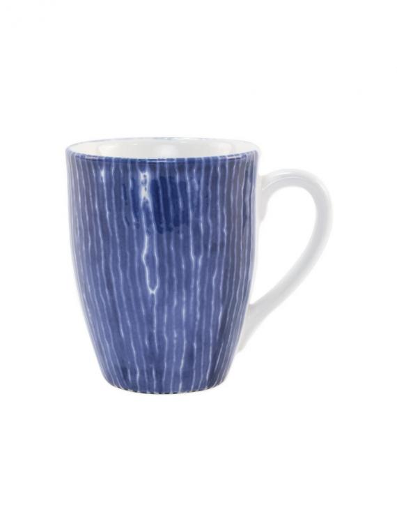 santorini stripe mug