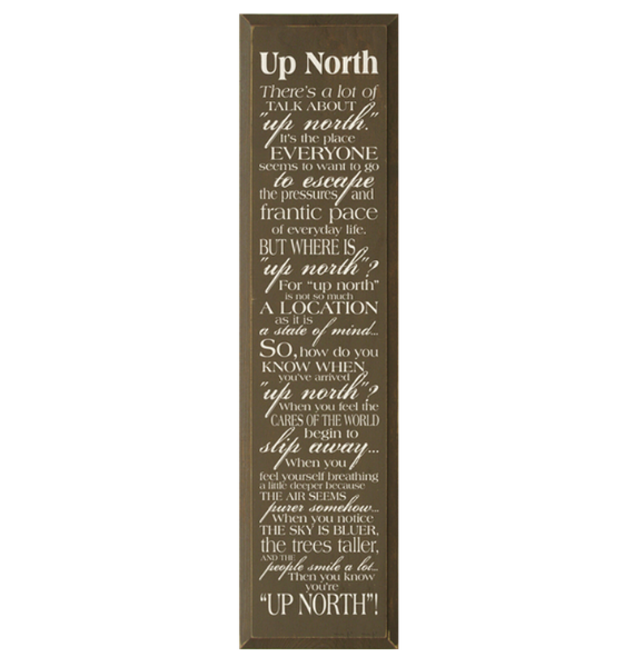 up north sign