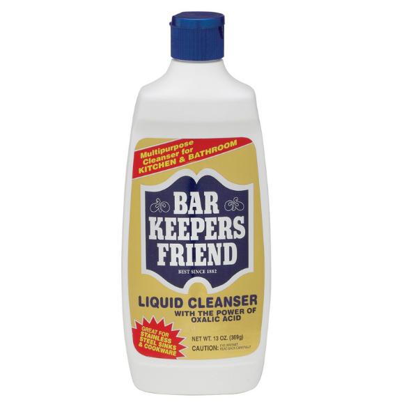 bar keepers friend liquid