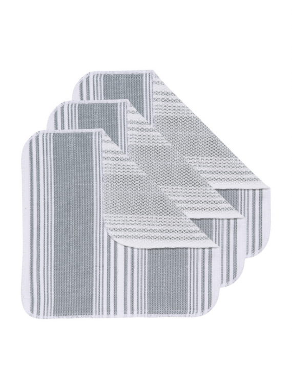 GRAY SCRUB DISHCLOTH