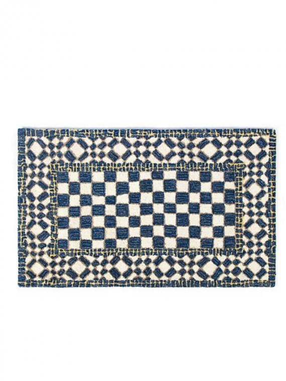 royal check rug x