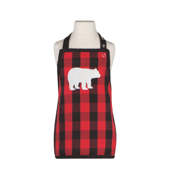 BUFFALO CHECK KIDS APRON