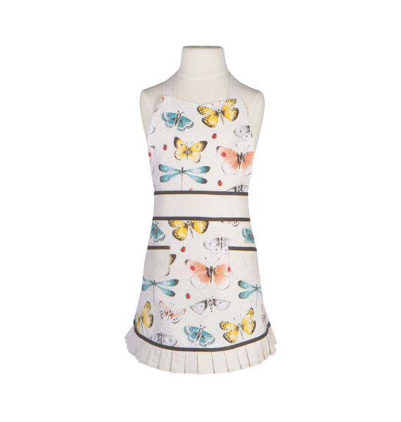 BUTTERFLY KIDS APRON