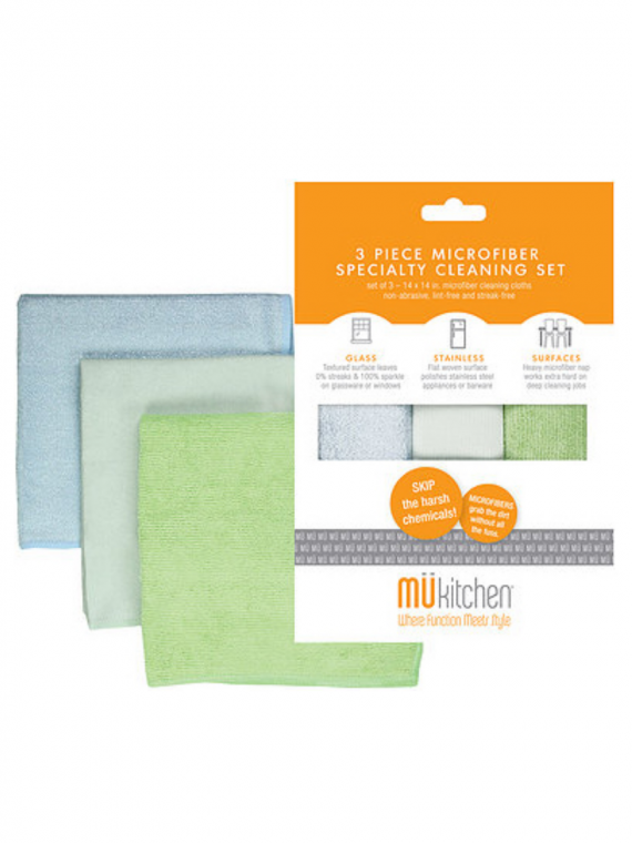 MICROFIBER CLEEANING SET SET OF