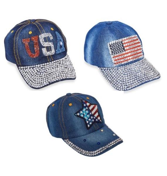 PKG USA BASEBALL HATS