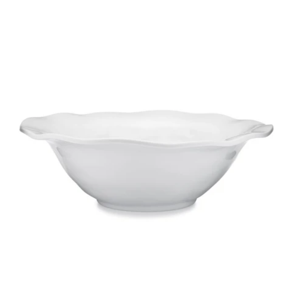 RUFFLED ROUND SERVING BOWL