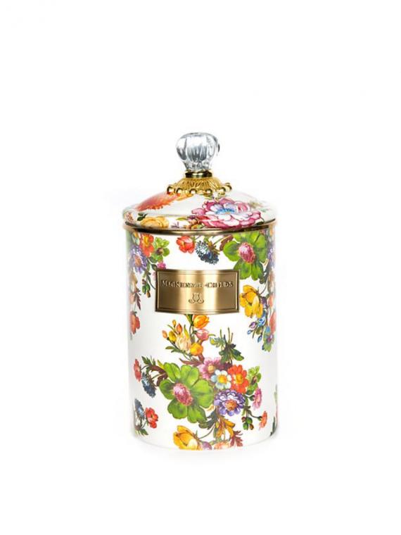 flower market large canister