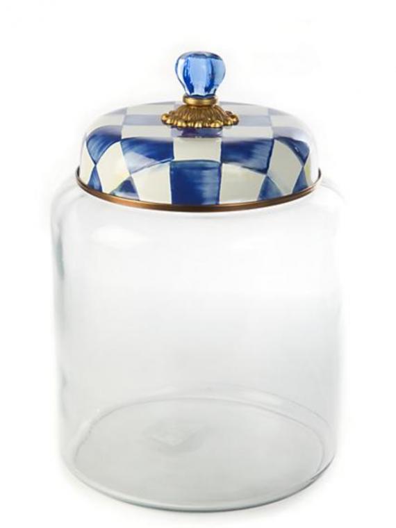 royal check canister bigger