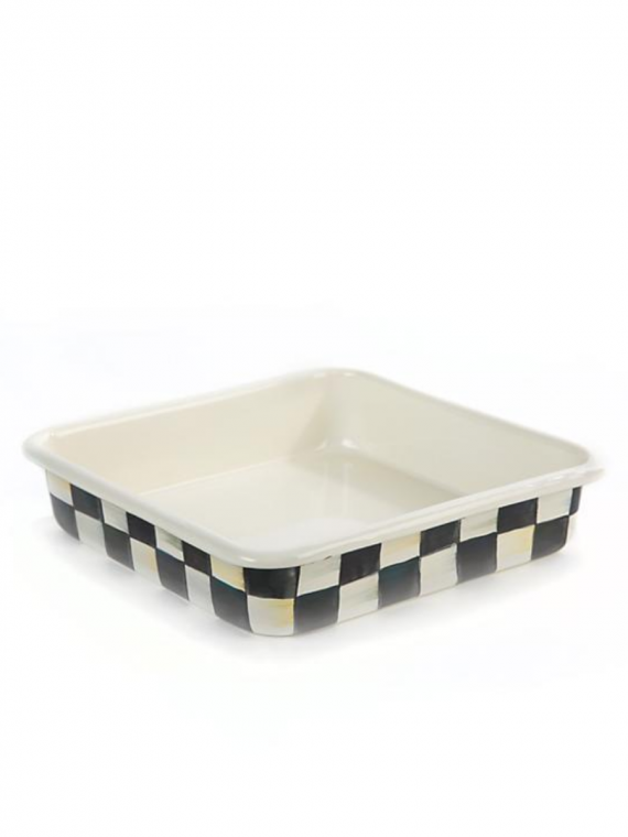 courtly check square baking dish
