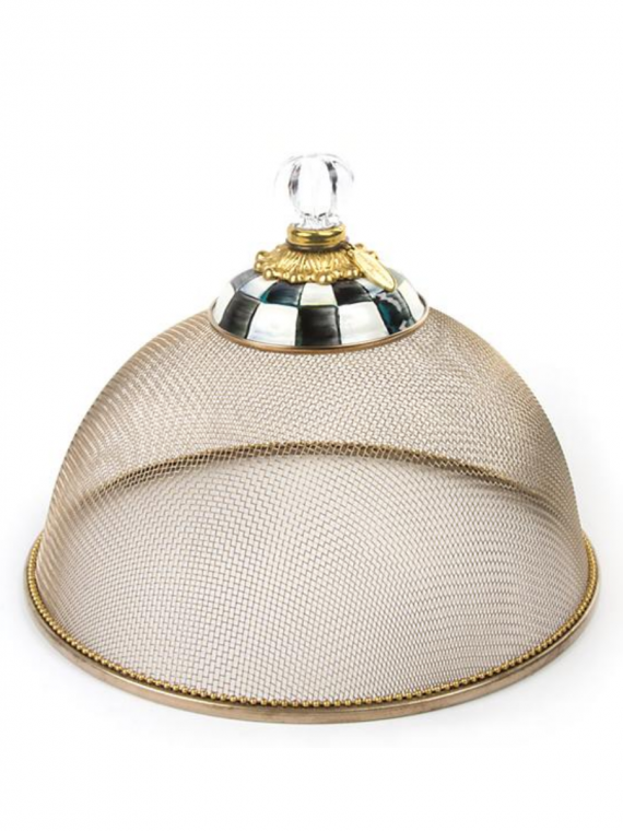 courtly check small mesh dome