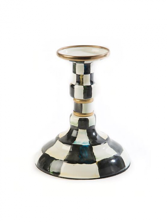 courtly check candlestick modest