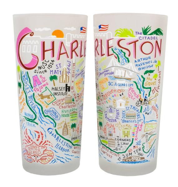 CHARLESTON CHARLESTON GLASS