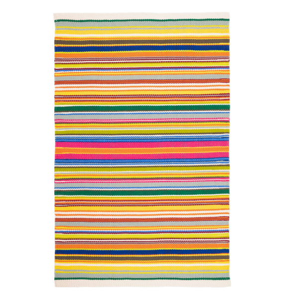 DA TROPICAL STRIPE MULTI INDOOR OUTDOOR RUG