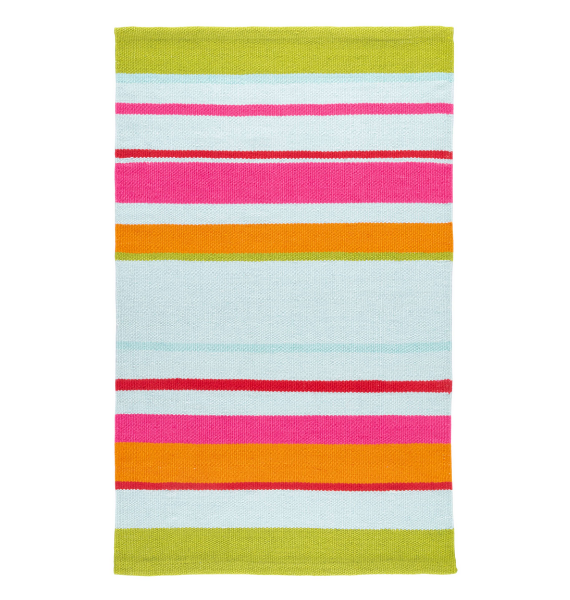 DA RORY STRIPE INDOOR OUTDOOR RUG