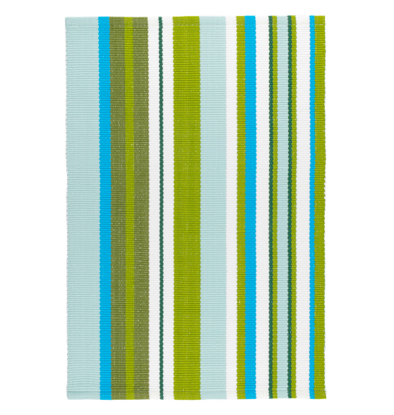 DA RIVER STRIPE INDOOR OUTDOOR RUG