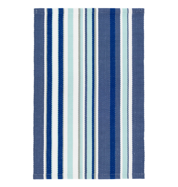 DA SKYLER STRIPE INDOOR OUTDOOR RUG