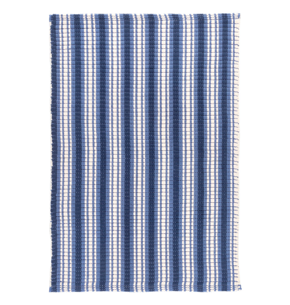 DA ROCKLAND STRIPE INDOOR OUTDOOR RUG