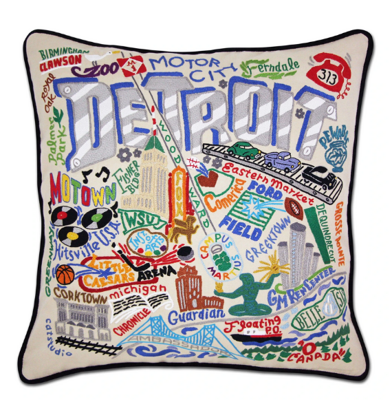 DETROIT PLW DETROIT PILLOW
