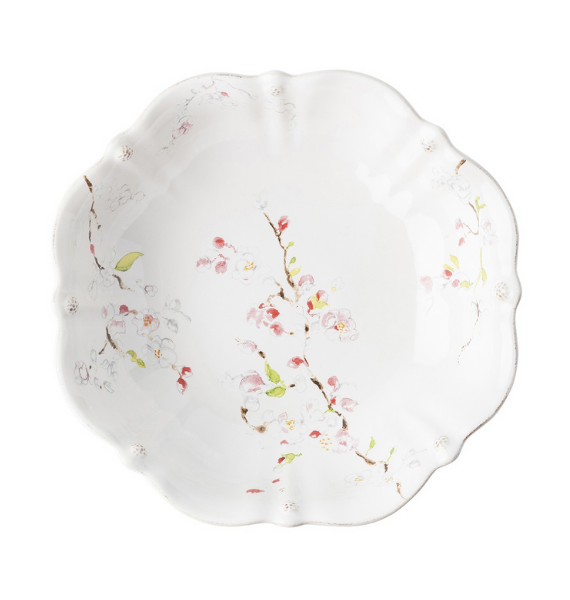 FBXB FLORAL SKETCH CHERRY BLOSSOM SERVING BOWL