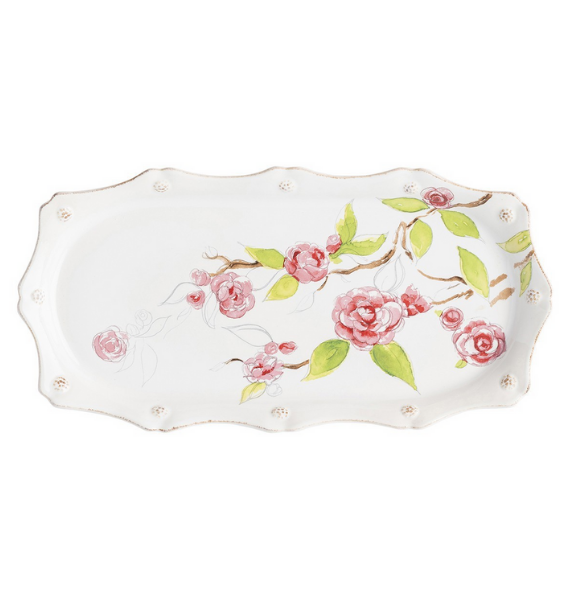 FBXA FLORAL SKETCH HOSTESS TRAY