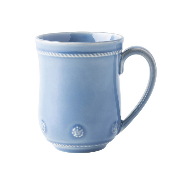 JA BERRY AND THREAD CHAMBRAY MUG