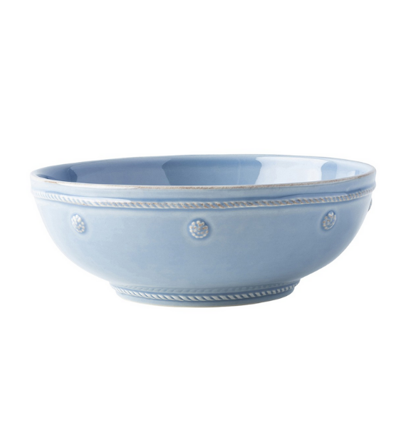 JA BERRY AND THREAD CHAMBRAY PASTA BOWL