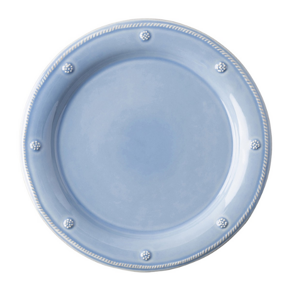 JDR BERRY AND THREAD CHAMBRAY DINNER PLATE
