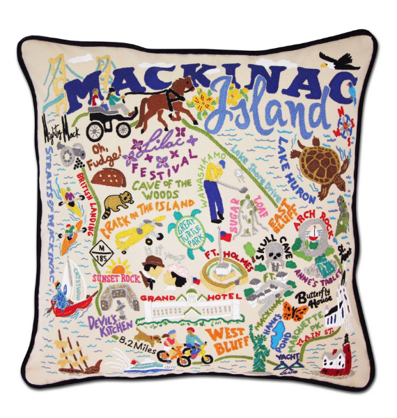 MACKINAC MACKINAC ISLAND PILLOW