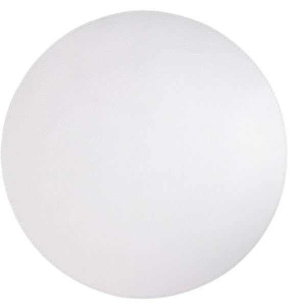 PRESTO WHITE ROUND PLACEMAT