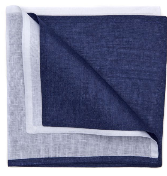 RESORT STRIPE NAPKIN NAVY