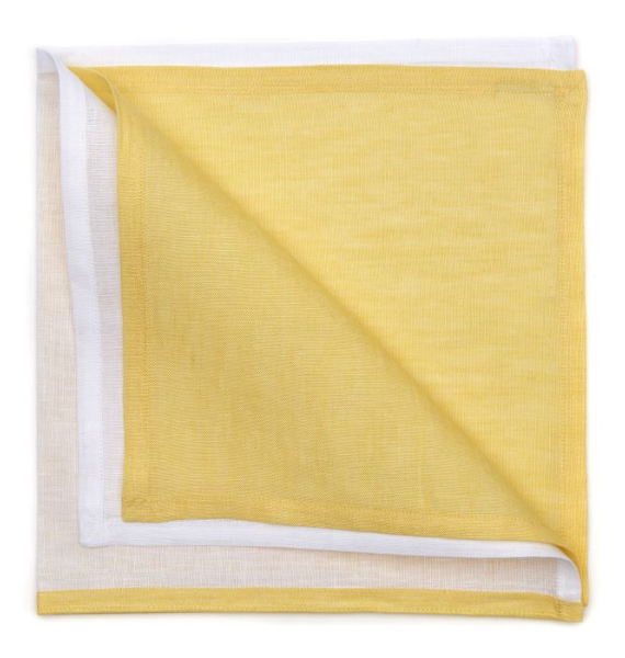 RESORT STRIPE NAPKIN YELLOW